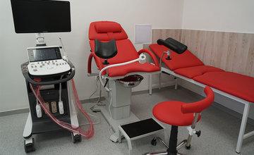 Zrekonštruovaná príjmová ambulancia na gynekologicko - pôrodníckom oddelení v žilinskej nemocnici