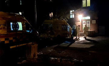 Prevoz pacientov s podozrením na koronavírus zo Žiliny do nemocnice v Martine
