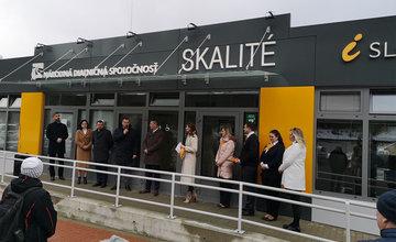 Nové informačno-predajné miesto Národnej diaľničnej spoločnosti v obci Skalité