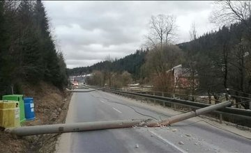 Následky nepriaznivej poveternostnej situácie v Žilinskom kraji 24.2.2020