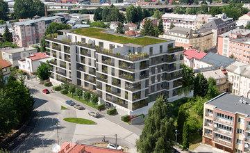Rezidencia Murgašova zmení nepeknú betónovú plochu na moderný bytový dom