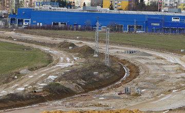 FOTO: Aktuálny stav prác na stavbe diaľničného privádzača 02.03.2020