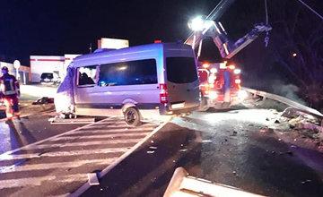 Dopravná nehoda v Ružomberku 11. marca 2020
