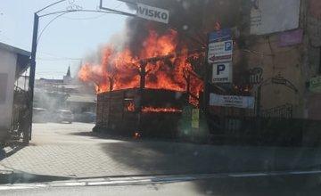 AKTUÁLNE: Na Hviezdoslavovej v Žiline horí budova