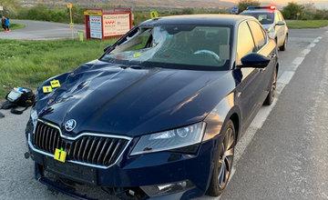 Dopravná nehoda pri obci Strečno 28.4.2020
