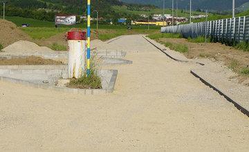 Budovanie novej cyklotrasy cez obce Teplička nad Váhom, Nededza a Varín