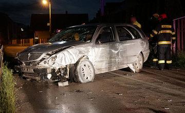 Dopravná nehoda osobného auta v mestskej časti Žilina - Trnové 6.6.2020