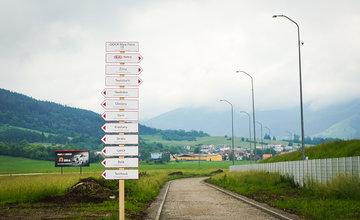 Slávnostné zahájenie výstavby: Cyklomagistrála Terchovská dolina
