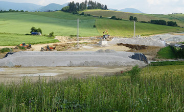 FOTO: Aktuálny stav prác na stavbe diaľničného privádzača 24.06.2020
