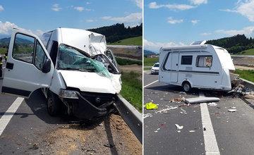FOTO: Tragická dopravná nehoda v katastri obce Ivachnová 24.6.2020