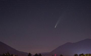 FOTO: Kométa NEOWISE zachytená na fotografiách v Žilinskom kraji