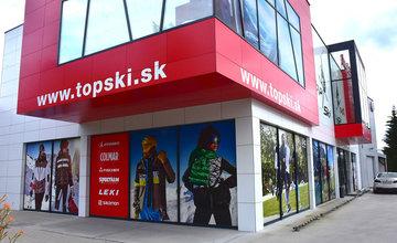 FOTO: Predajňa Topski v Žiline so širokým sortimentom športovej výbavy