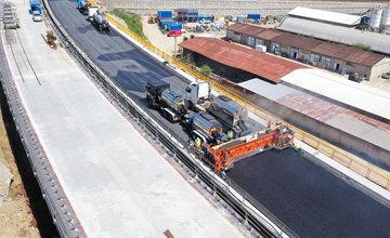 FOTO: Aktuálne zábery z výstavby diaľničného úseku D3 Čadca, Bukov - Svrčinovec