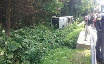 FOTO: Dopravná nehoda autobusu na Donovaloch 20.7.2020