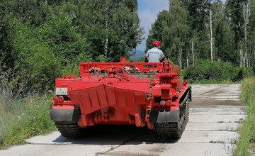 FOTO: Pravidelný výcvik a kondičné jazdy Záchrannej brigády HaZZ v Žiline