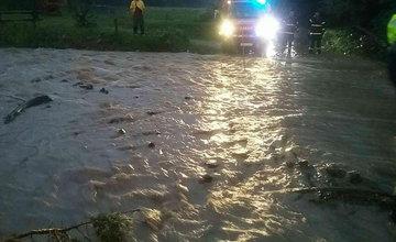 FOTO: Následky prívalových dažďov v piatok 24. júla odstraňovali v okresoch Žilina a Čadca