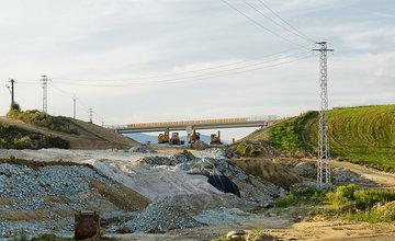 FOTO: Aktuálny stav prác na stavbe diaľničného privádzača 10.08.2020