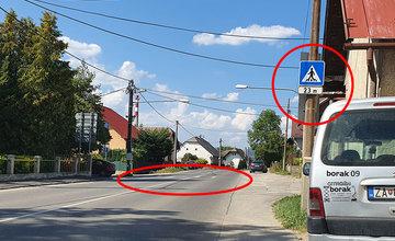 FOTO: Na niektorých cestách I. triedy v Žiline a okolí chýba vodorovné dopravné značenie