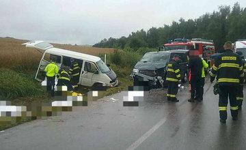 FOTO: Tragická dopravná nehoda v obci Liptovský Trnovec 19.8.2020