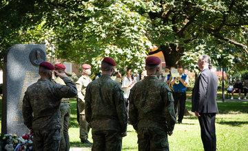 FOTO: V Sade na Studničkách v Žiline si dnes pripomenuli obete vojenských táborov PTP