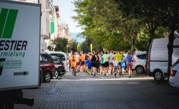FOTO: Na Hlinkovom námestí odštartoval Žilinský mestský polmaratón 2020