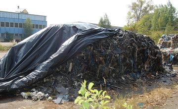 FOTO: Polícia odhalila nelegálnu skládku odpadu v Martine