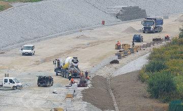 FOTO: Aktuálny stav prác na stavbe diaľničného privádzača 24.09.2020