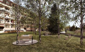 FOTO: Revitalizácia verejného priestoru vnútrobloku medzi ul. Tulská a Slovanská - štúdia