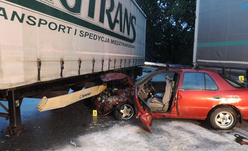FOTO: Dopravná nehoda Kysucké Nové Mesto 29.9.2020