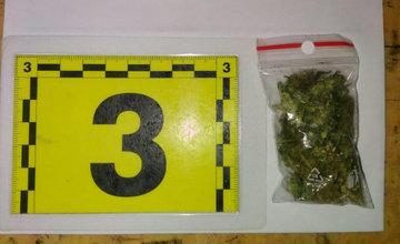 FOTO: Úspešná akcia žilinskej polície, 22-ročnému mužovi našli doma drogy