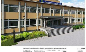 FOTO: Vizualizácia modernizácie hlavného vchodu MKP Žilina