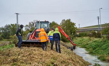 FOTO: Odstraňovanie následkov intenzívneho dažďa - 14.10.2020
