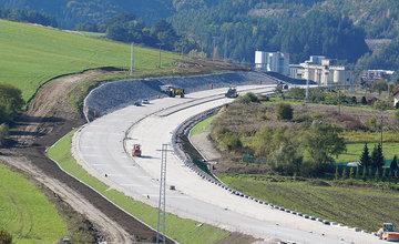 FOTO: Aktuálny stav prác na stavbe diaľničného privádzača 22.10.2020