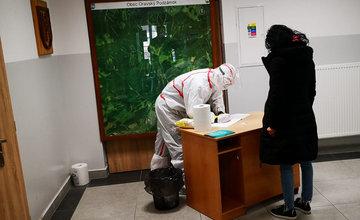 FOTO: Testovanie obyvateľstva na koronavírus v regióne Orava
