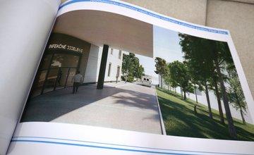 FOTO: Návrh nového infekčného a pľúcneho pavilónu FNsP Žilina