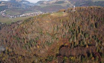 FOTO: Jesenný Straník z vtáčej perspektívy