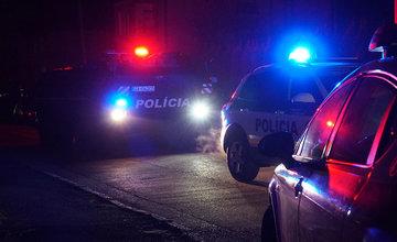 FOTO: Policajný zásah v Strečne 14. december 2020
