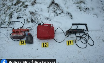 FOTO: Zadržanie 26-ročného Štefana na Orave - krádež a drogy