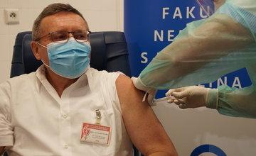 FOTO: Očkovanie proti koronavírusu v Žiline - FNsP Žilina