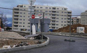 FOTO: Na sídlisku Vlčince pribudne nová ulica