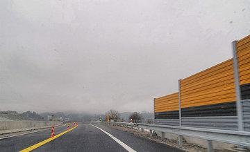 FOTO: Chýbajúca protihluková stena na diaľničnom privádzači v Bytčici