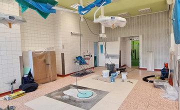 FOTO: Žilinská nemocnica odštartovala rekonštrukciu šiestich operačných sál