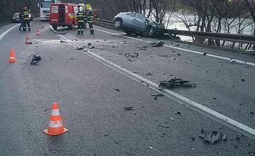 FOTO: Dopravná nehoda v meste Ružomberok 26.2.2021