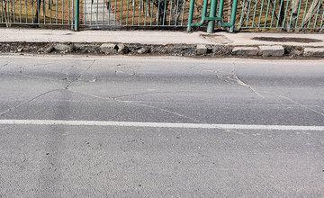 FOTO: Stav mostov na ulici Sv. Cyrila a Metoda na sídlisku Vlčince