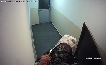 FOTO: Zlodej kamery na Vlčincoch - 14. marec 2021