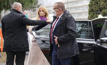 FOTO: Žilinskú nemocnicu navštívila prezidentka Zuzana Čaputová
