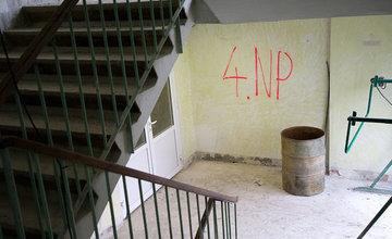 FOTO: Internát pri Strednej zdravotníckej škole v Žiline prechádza rozsiahlou rekonštrukciou