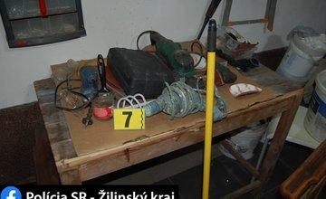 FOTO: Dolapenie dvoch podozrivých z krádeže elektrotechniky