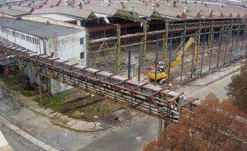 FOTO: NORTH GATE v areáli bývalých ZŤS Martin