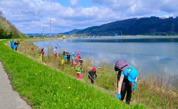 FOTO: Veľké čistenie Vodného diela Žilina 2021